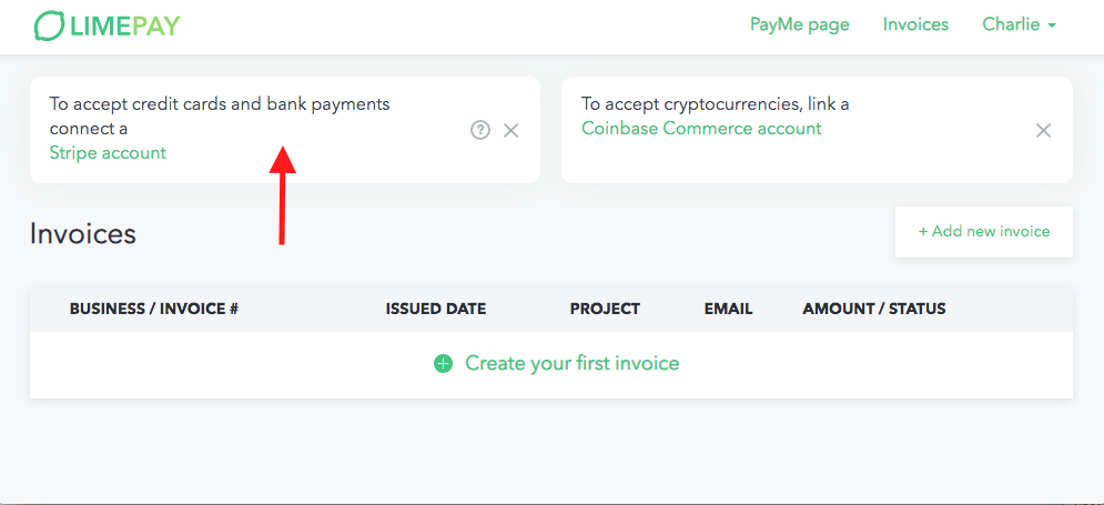 Limepay - add payment processor