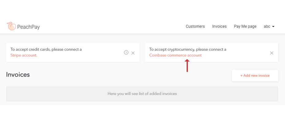 Coinbase commerce account